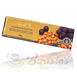 Lindt Gold Milk with Raisin and Hazelnut шоколадная плитка 300г