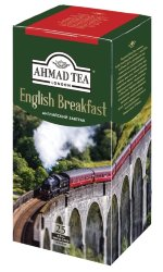 Ahmad English Breakfast 2г Х 25 пак черный