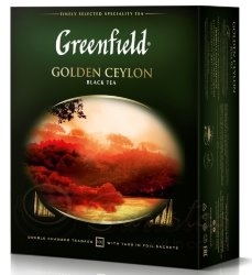 Greenfield Golden Ceylon 100 пак х 2г чай черный