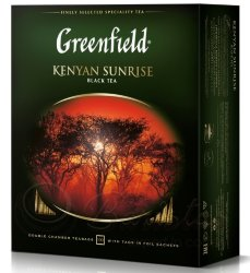 Greenfield Kenyan Sunrise 100 пак х 2г чай черный