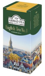 Ahmad English Tea №1 2г Х 25пак черный чай