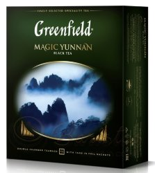 Greenfield Magic Yunnan 100 пак х 2г чай черный